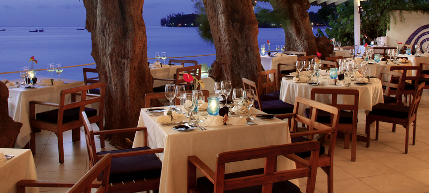 The Tides restaurant in Barbados