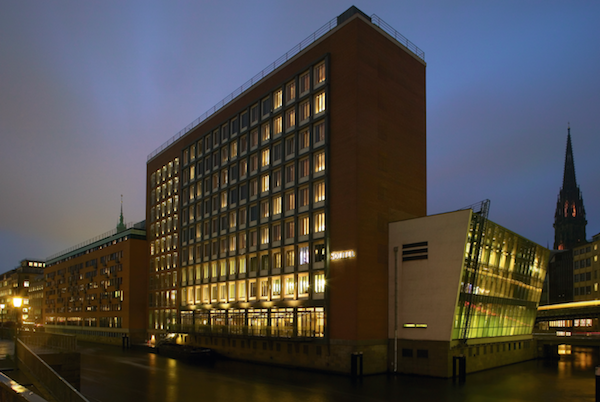 The exterior of the Sofitel Hamburg Alter Wall