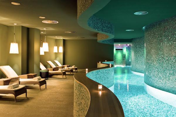 The spa at the Sofitel Hamburg