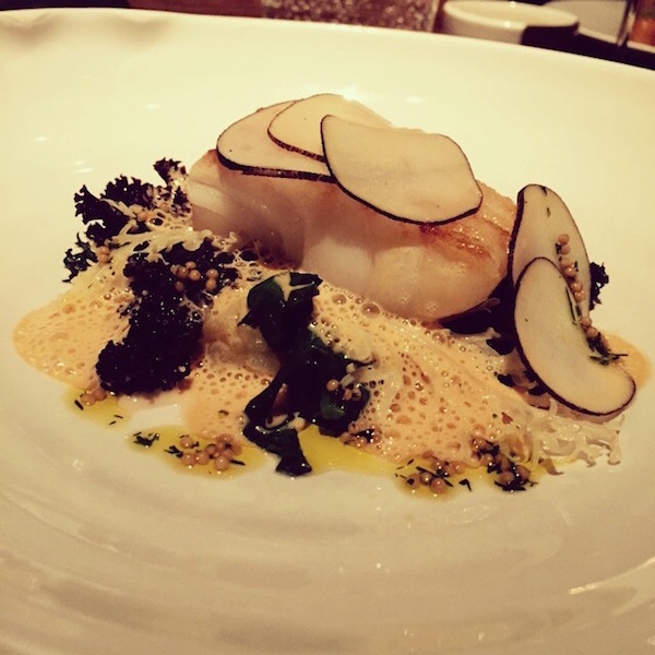 Cod fillet at Fera at Claridge's