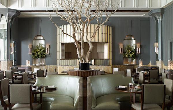 The dining room at Fera at Claridge's