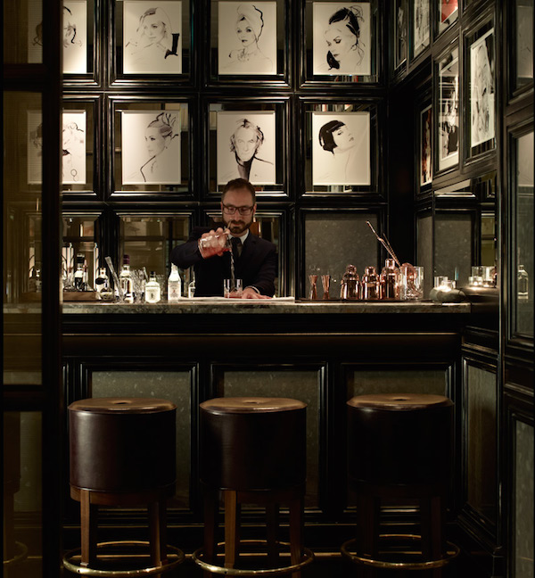 The bar at Fera at Claridge's