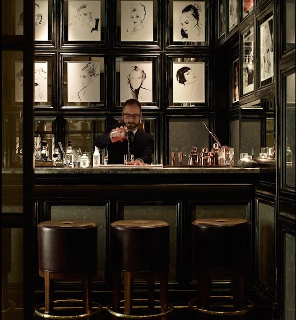 The bar at Fera at Claridge's