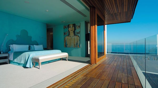 The rooms at Ellerman House Hotel