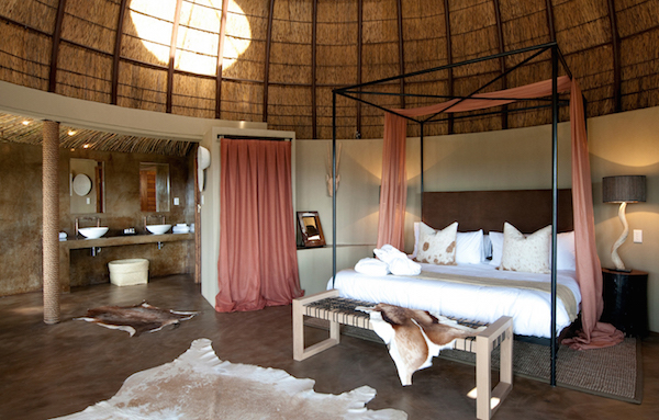 The bedrooms at Gondwana Game Reserve