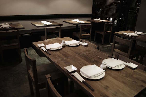 Dinings Japanese restaurant in London