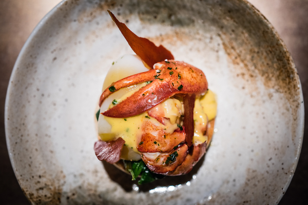 Lobster brunch at Quaglino's restaurant in St James's