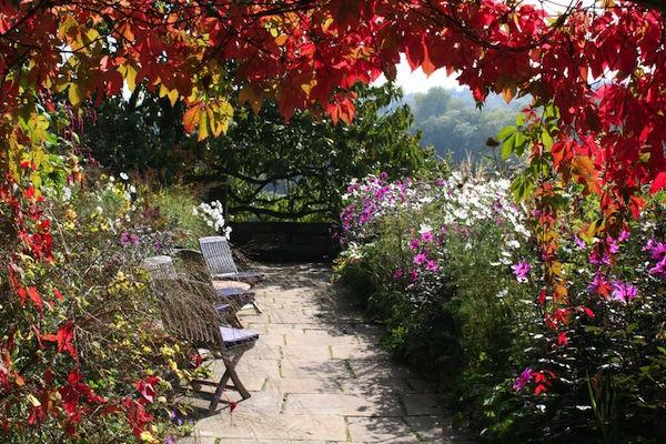 The stunning gardens of Gravetye Manor