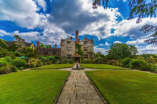 The beautiful grounds of Gravetye Manor