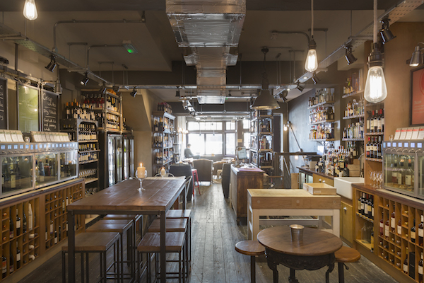 Vagabond wine bar and store London
