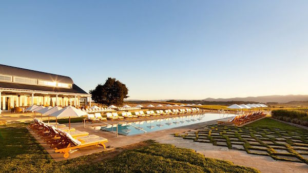 The pool at The Carneros Inn Napa