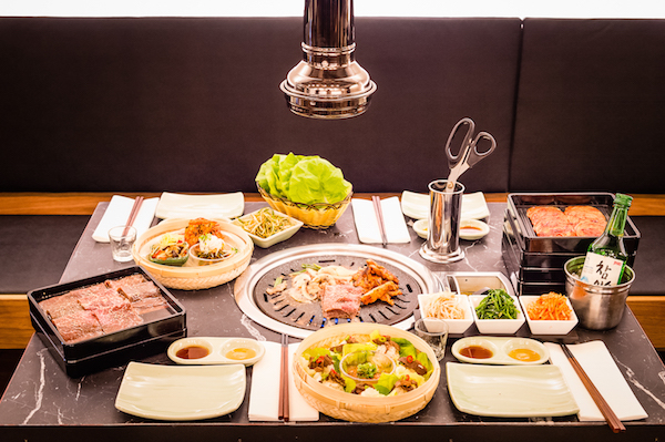 Korean food at Koba London