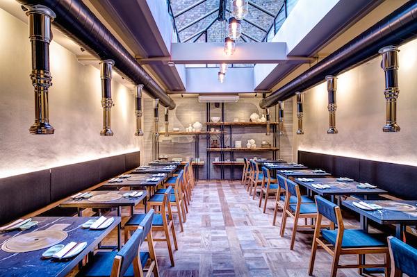 The dining room at Koba London
