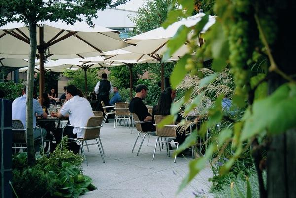 The best rooftop bars in london the bon vivant journal for Terrace bar menu