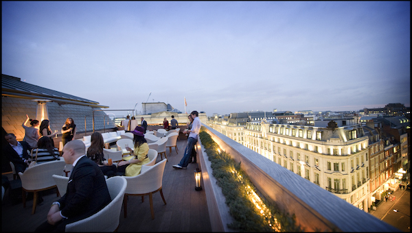 The Best Rooftop Bars In London The Bon Vivant Journal