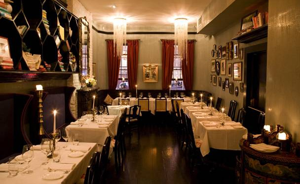 The best private dining rooms in new york for Best restaurants with private dining rooms nyc
