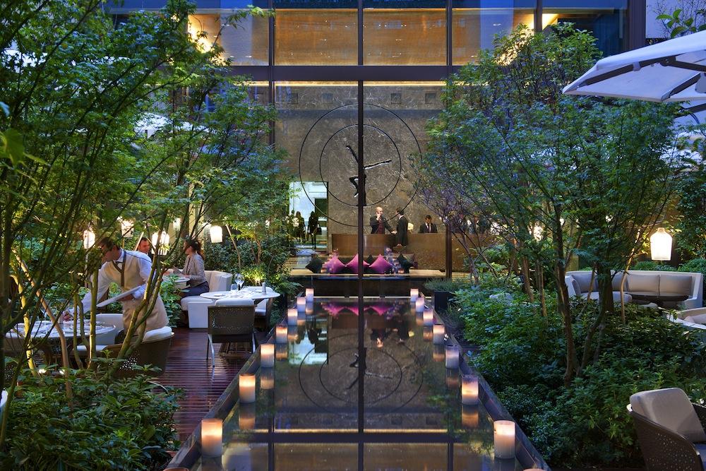 camelia at the mandarin oriental paris the bon vivant journal. Black Bedroom Furniture Sets. Home Design Ideas