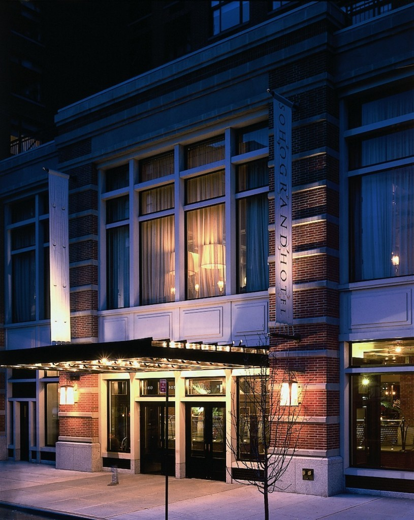 Soho grand hotel new york the bon vivant journal for Dog friendly hotel nyc