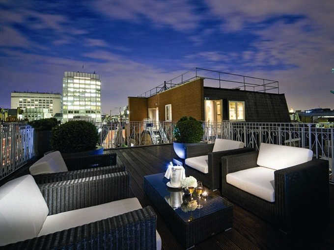 The best london hotel suites for Terrace hotel london