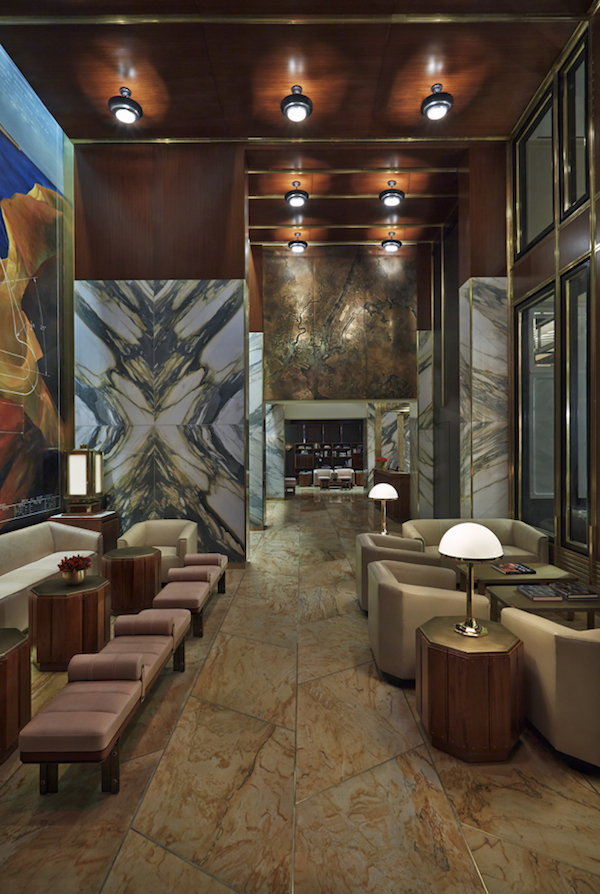 Viceroy new york hotel downtown comes to midtown the for Best private dining rooms new york city