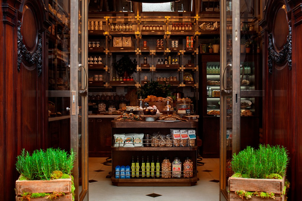 Holborn Dining Room Entrance