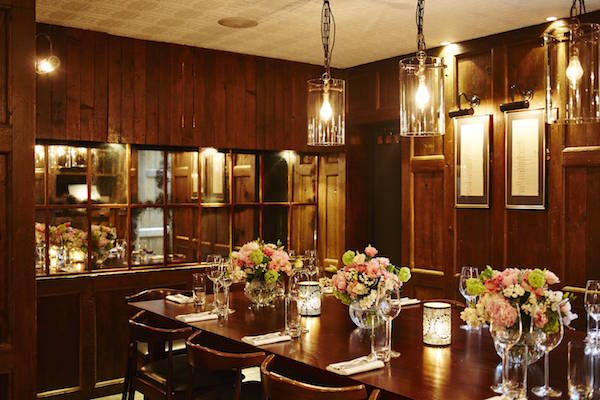 The best private dining rooms in london for Restaurants with private dining rooms